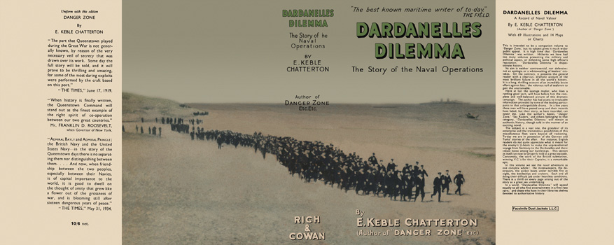 Dardanelles Dilemma. E. Keble Chatterton.