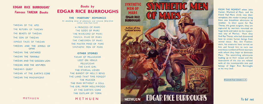 Synthetic Men of Mars. Edgar Rice Burroughs
