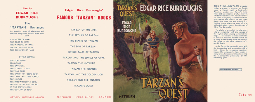 Tarzan's Quest. Edgar Rice Burroughs