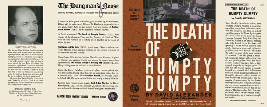 Death of Humpty Dumpty, The. David Alexander