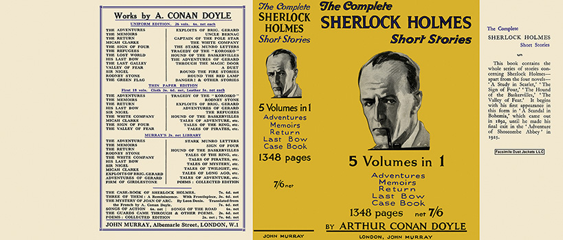 Complete Sherlock Holmes Short Stories, The. Sir Arthur Conan Doyle
