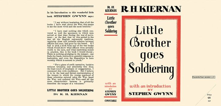 Little Brother Goes Soldiering. R. H. Kiernan