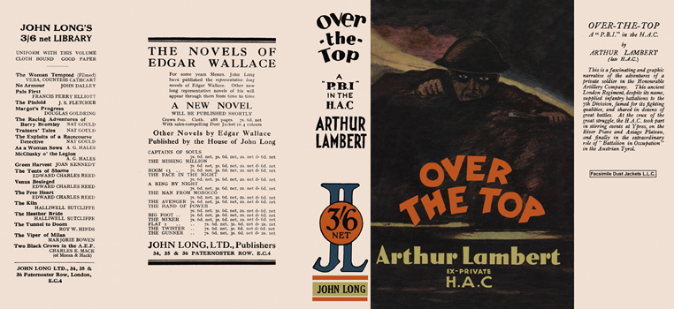Over the Top. Arthur Lambert.