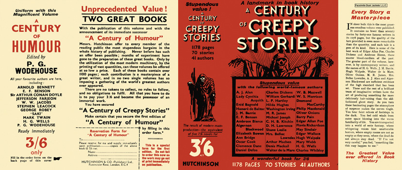 Century of Creepy Stories, A. Anthology