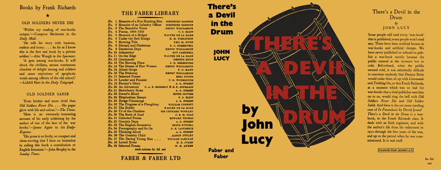 There's a Devil in the Drum. John Lucy.
