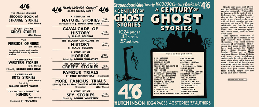 Century of Ghost Stories, A. Anthology.