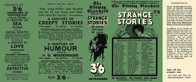 Evening Standard Book of Strange Stories, The. Anthology
