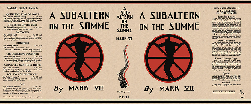 Subaltern on the Somme, A. Mark VII