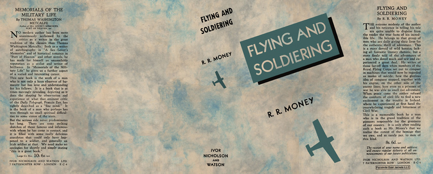 Flying and Soldiering. R. R. Money.