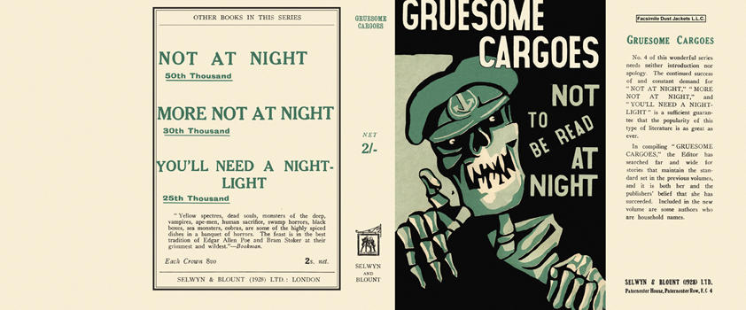 Gruesome Cargoes (Not at Night series). Christine Campbell Thomson, Anthology