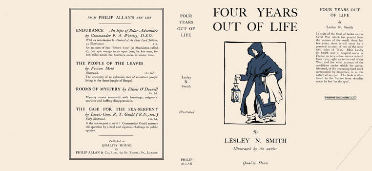 Four Years Out of Life. Lesley N. Smith.