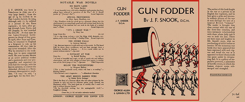Gun Fodder. J. F. Snook.