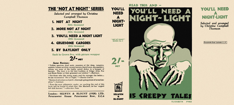 You'll Need a Night-Light (Not at Night series). Christine Campbell Thomson, , Anthology.