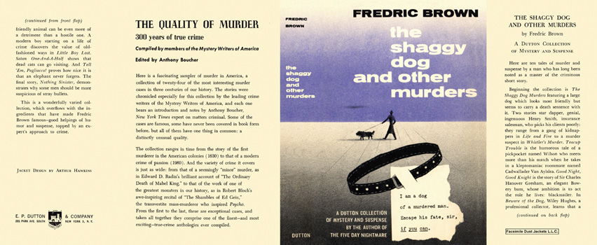 Shaggy Dog and Other Murders, The. Fredric Brown.