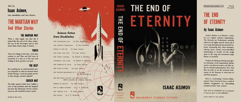 End of Eternity, The. Isaac Asimov