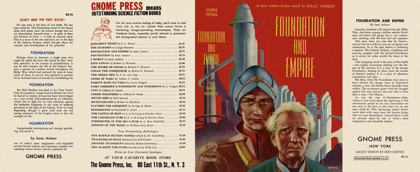 Foundation and Empire. Isaac Asimov