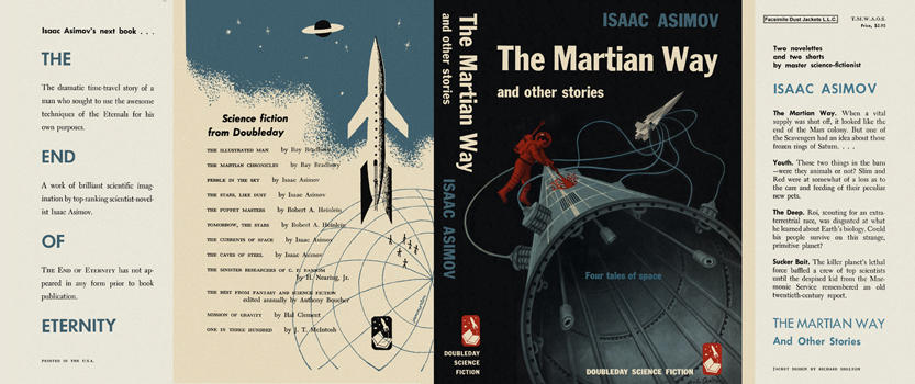 Martian Way and Other Stories, The. Isaac Asimov