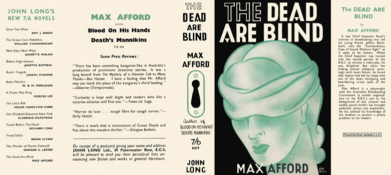 Dead Are Blind, The. Max Afford