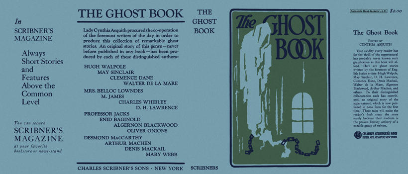 Ghost Book, The. Cynthia Asquith, Anthology