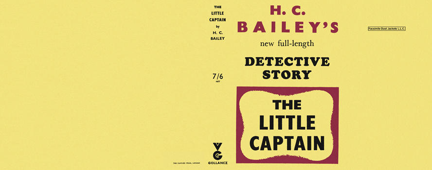 Little Captain, The. H. C. Bailey