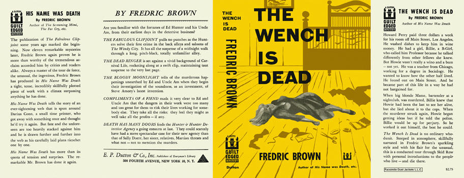 Wench Is Dead, The. Fredric Brown.
