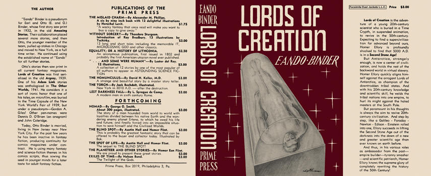 Lords of Creation. Eando Binder
