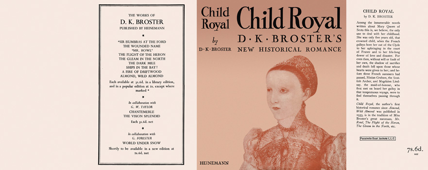 Child Royal. D. K. Broster