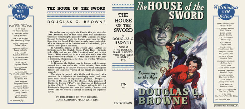 House of the Sword, The. Douglas G. Browne.