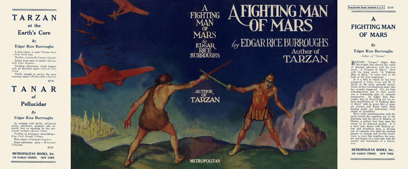 Fighting Man of Mars, A. Edgar Rice Burroughs