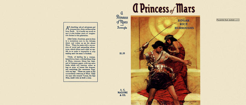 Princess of Mars, A. Edgar Rice Burroughs