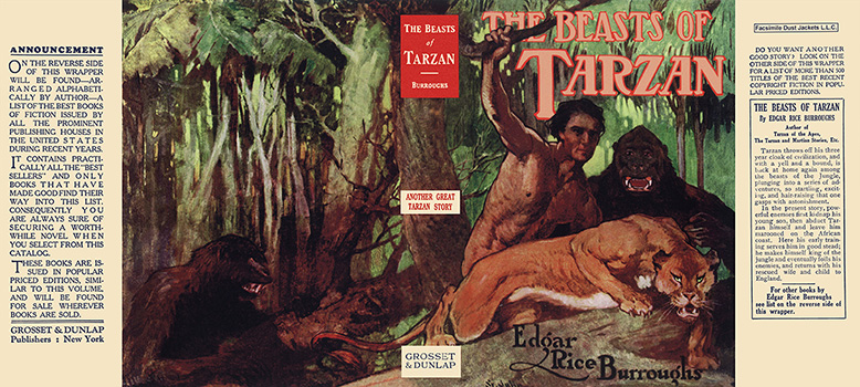 Beasts of Tarzan, The. Edgar Rice Burroughs