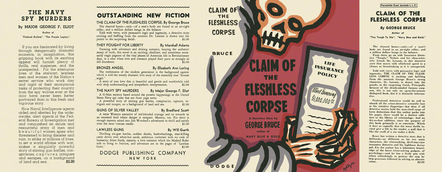 Claim of the Fleshless Corpse. George Bruce.