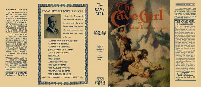 Cave Girl, The. Edgar Rice Burroughs.