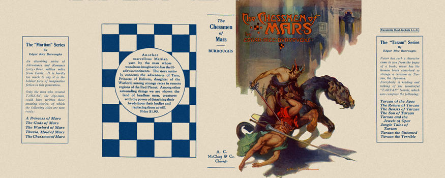 Chessmen of Mars, The. Edgar Rice Burroughs