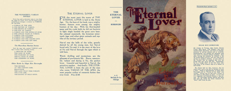 Eternal Lover, The. Edgar Rice Burroughs.