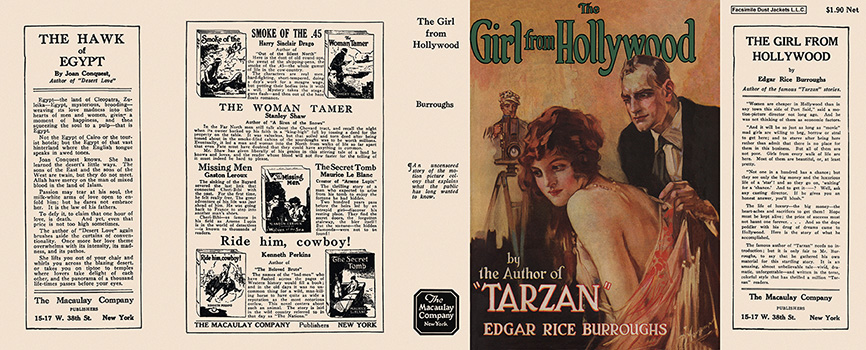 Girl from Hollywood, The. Edgar Rice Burroughs