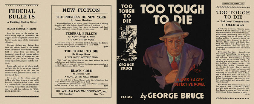 Too Tough to Die. George Bruce.