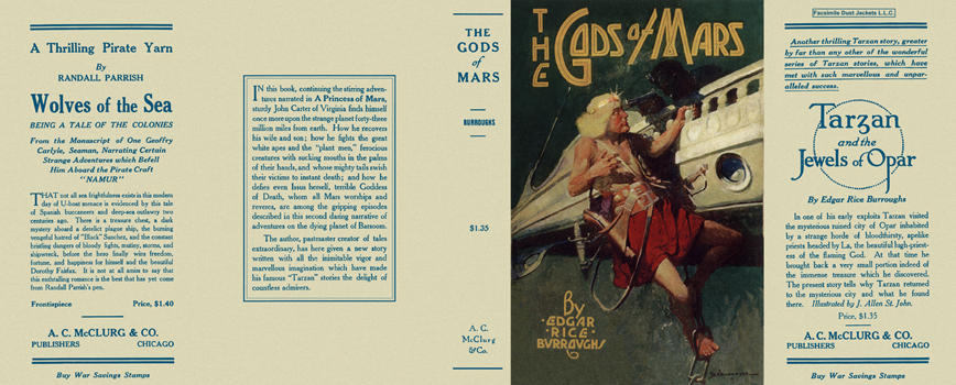 Gods of Mars, The. Edgar Rice Burroughs.