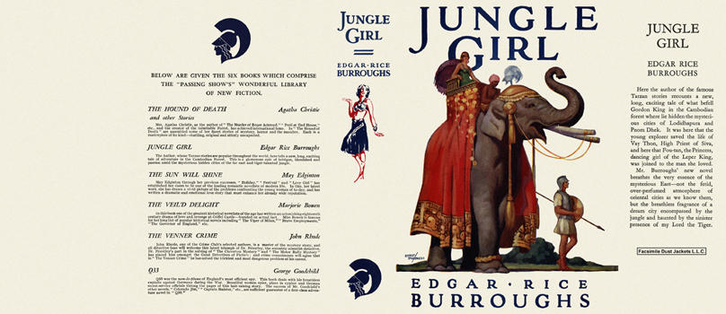 Jungle Girl. Edgar Rice Burroughs.