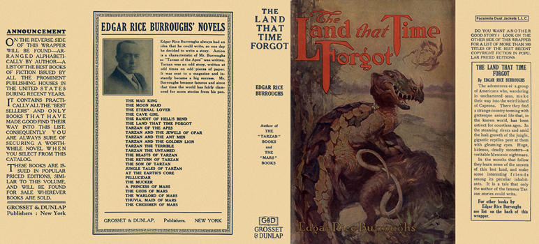 Land That Time Forgot, The. Edgar Rice Burroughs