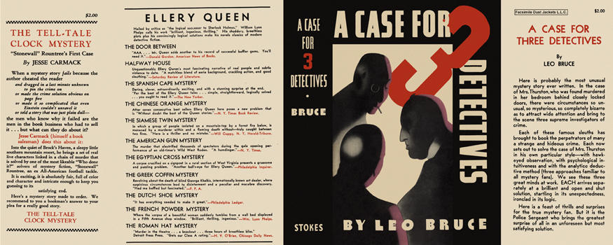 Case for Three Detectives, A. Leo Bruce.