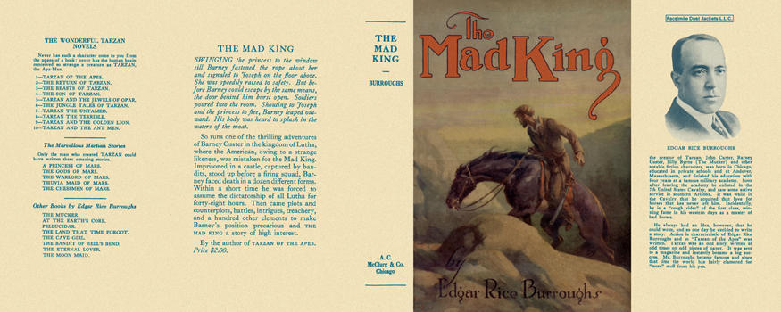 Mad King, The. Edgar Rice Burroughs.