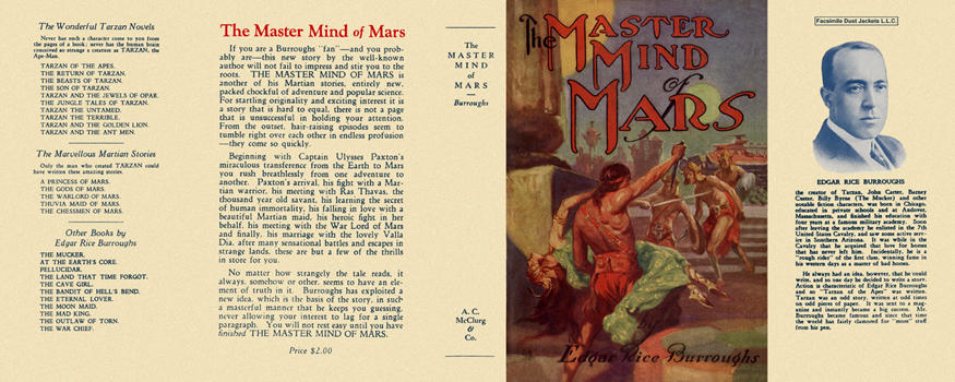 Master Mind of Mars, The. Edgar Rice Burroughs
