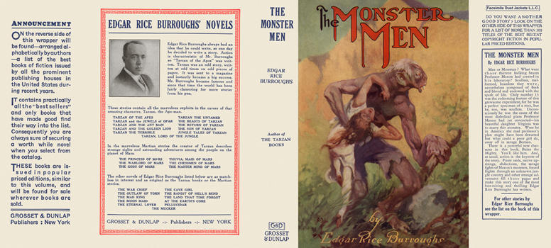 Monster Men, The. Edgar Rice Burroughs