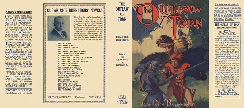 Outlaw of Torn, The. Edgar Rice Burroughs.