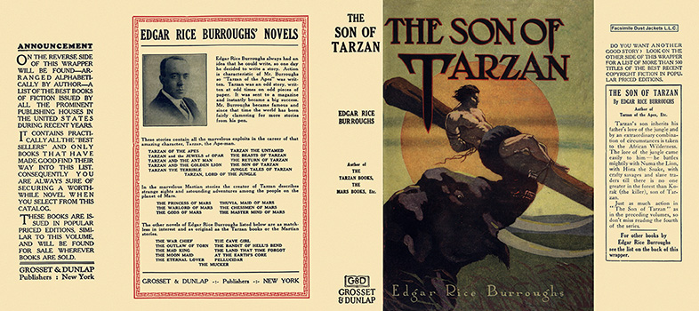 Son of Tarzan, The. Edgar Rice Burroughs.