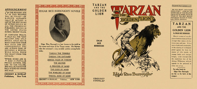 Tarzan and the Golden Lion. Edgar Rice Burroughs