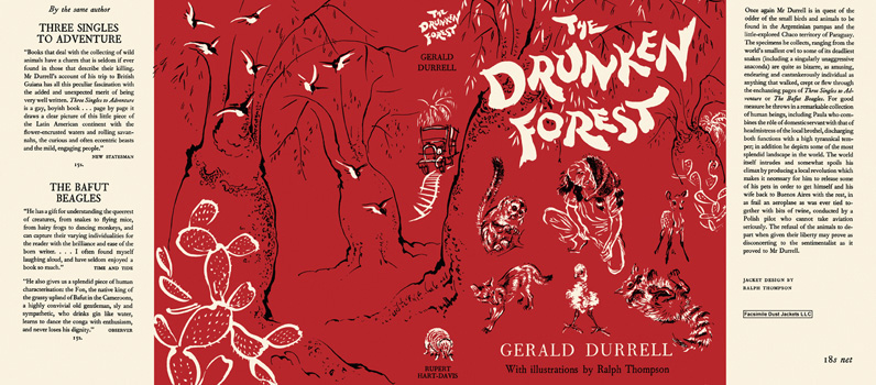 Drunken Forest, The. Gerald Durrell, Ralph Thompson
