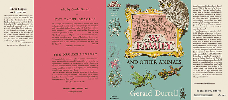 My Family and Other Animals. Gerald Durrell