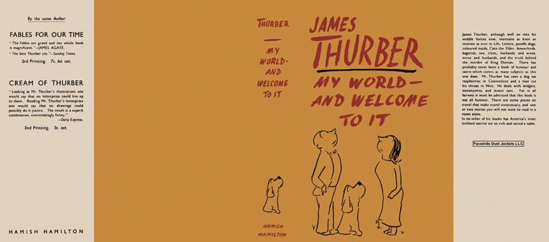 My World - and Welcome to It. James Thurber.